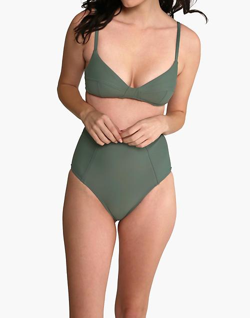 Galamaar® Simone Retro Bikini Top by Madewell