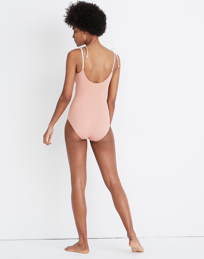 904bdf5cbc Madewell x Land of Women® Sofia One-Piece Swimsuit
