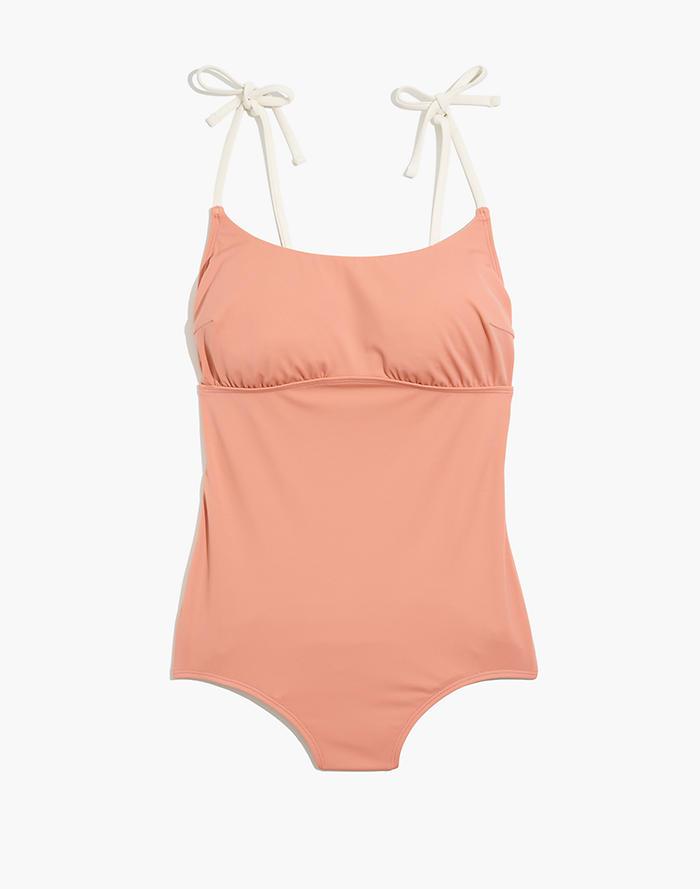 2ac643009ede2 Madewell x Land of Women® Sofia One-Piece Swimsuit