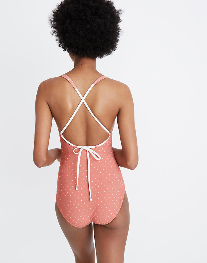 a1fd158498b Madewell x Land of Women® Lilia One-Piece Swimsuit