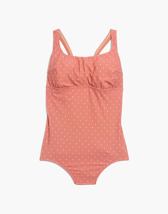 0c30c0686172e Madewell x Land of Women® Lilia One-Piece Swimsuit