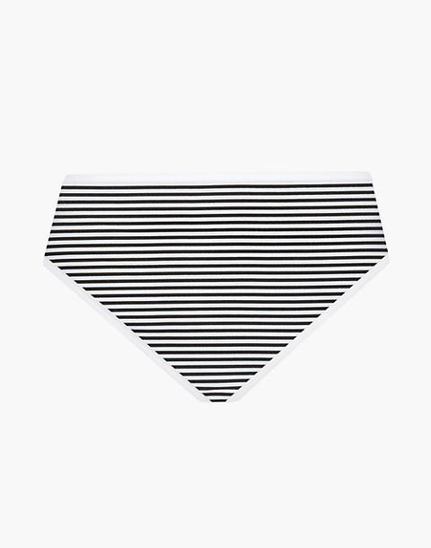 LIVELY™ Cotton Brief in black multi image 3