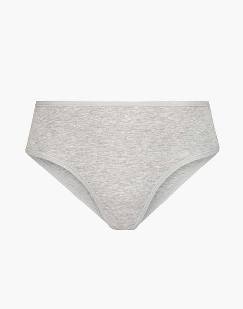 LIVELY™ Cotton Brief in gray image 2