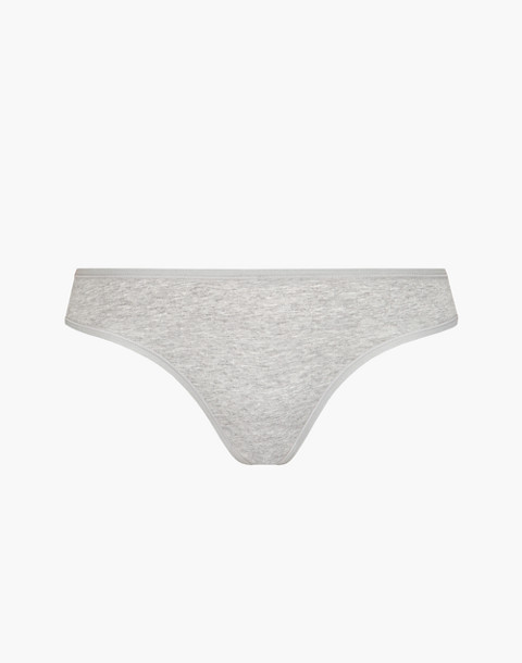 LIVELY™ Cotton Thong in gray image 3