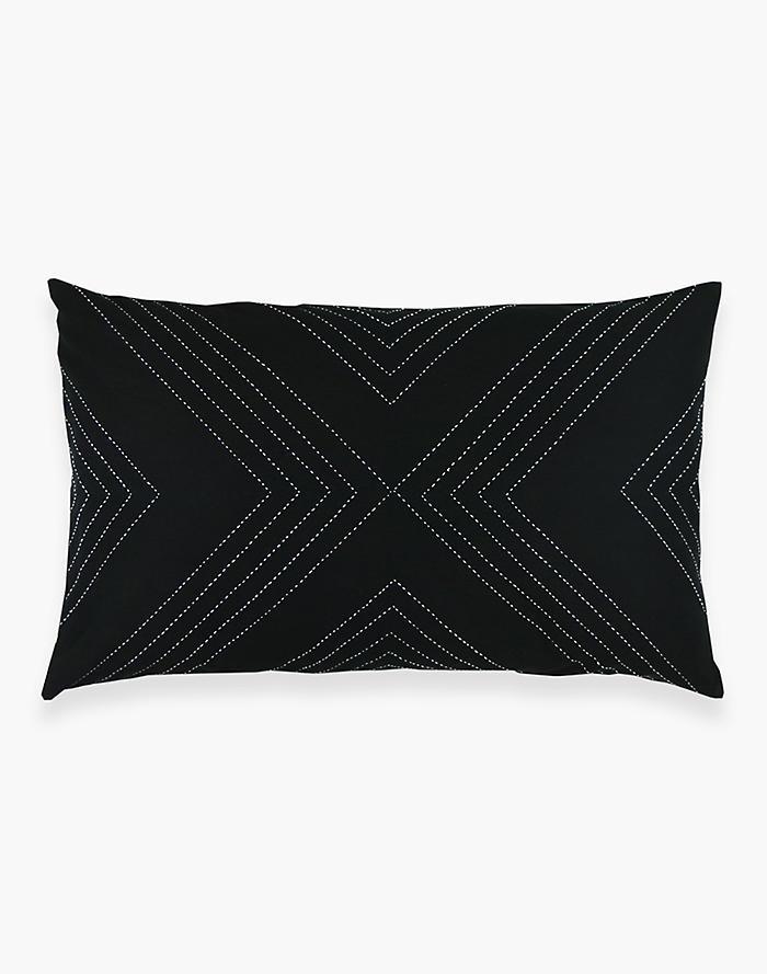 9b8add7d3d Anchal® Organic Cotton Geometric Lumbar Pillow
