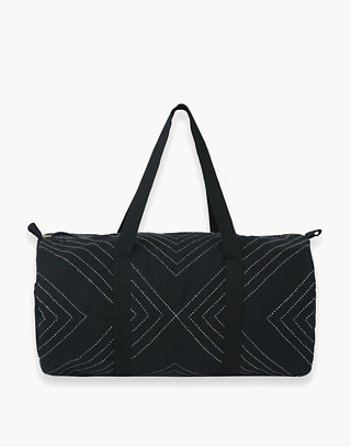 Anchal® Organic Cotton Weekender Travel Duffel Bag by Madewell