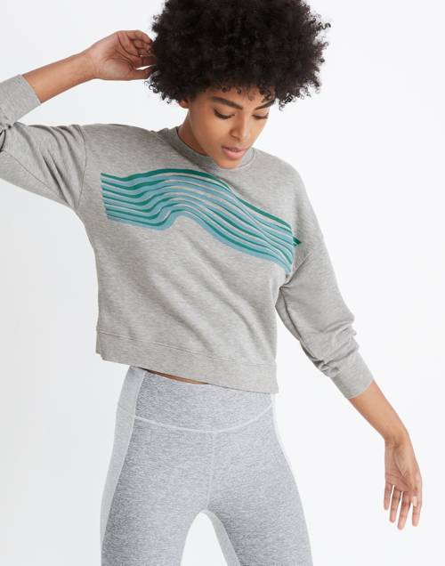 Madewell X Outdoor Voices® Crop Sweatshirt by Madewell
