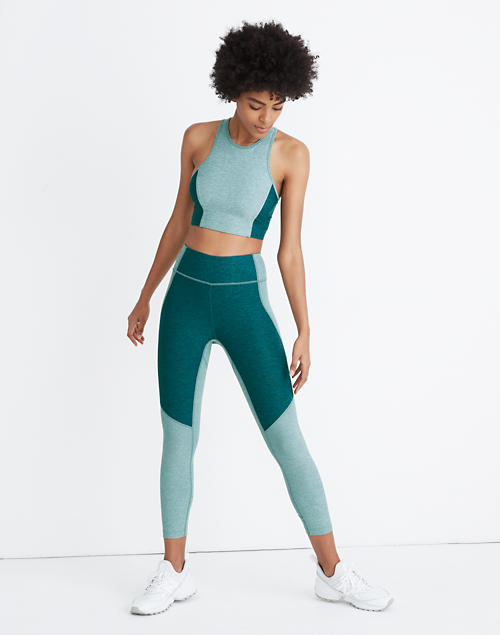 Madewell X Outdoor Voices® 3/4 Warmup Leggings by Madewell