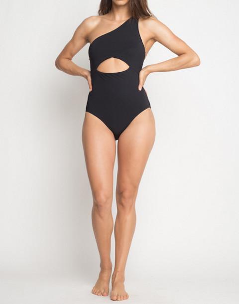 KORE SWIM® Calypso One-Piece Maillot Swimsuit in black image 1
