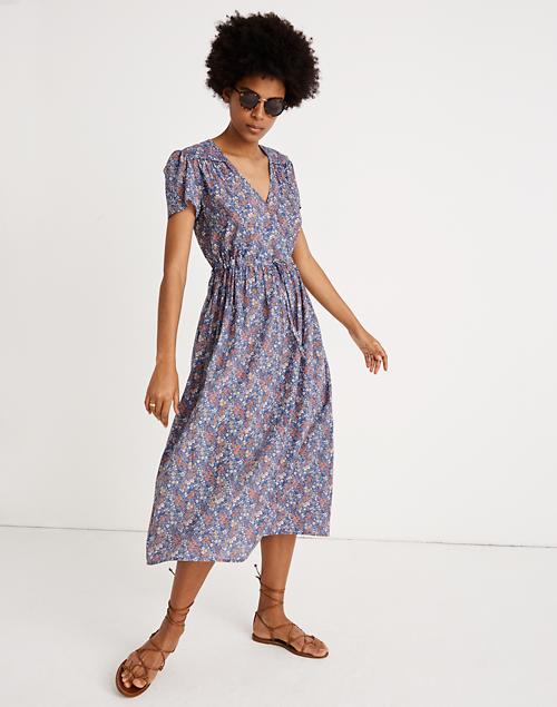 Madewell X Christy Dawn® Dawn Midi Dress In Floral Garden by Madewell