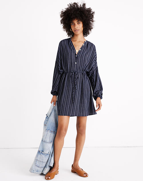Madewell X Christy Dawn® Striped Bonnie Mini Dress by Madewell