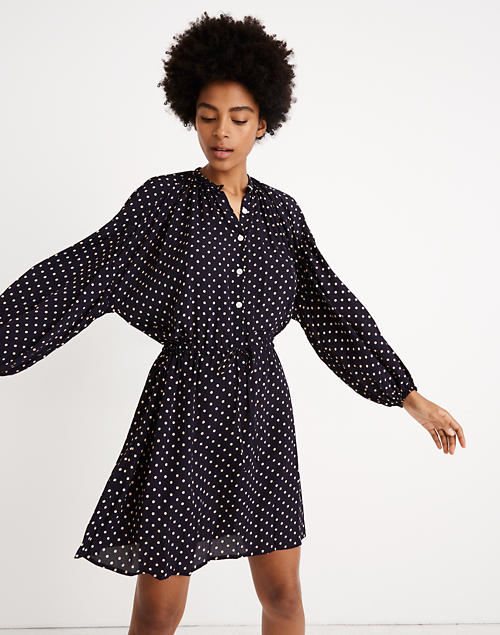 Madewell X Christy Dawn® Bonnie Mini Dress In Dot by Madewell
