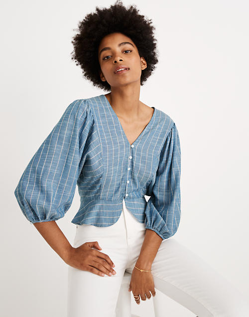 Madewell X Christy Dawn® Striped Emmy Top by Madewell