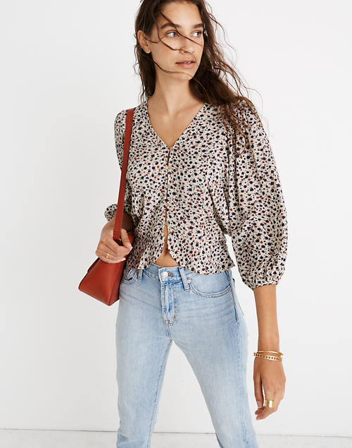 Madewell X Christy Dawn® Emmy Top In Windflowers by Madewell