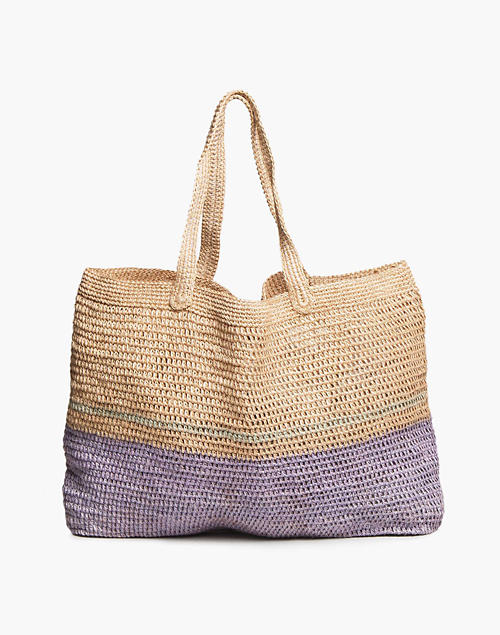 SOMEWARE™ Riviera Crochet Tote Bag in light purple image 1
