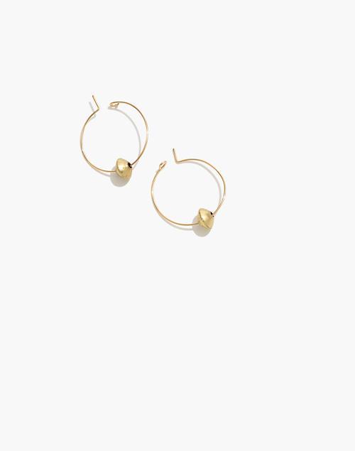 Natalie Borton Emma Hoop Earrings by Madewell