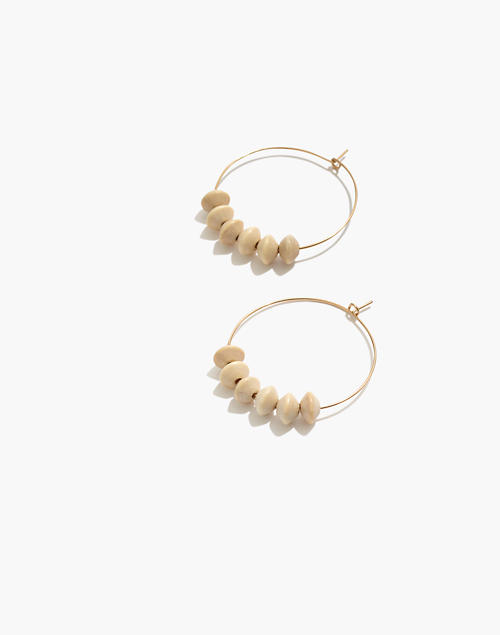 Natalie Borton Jaime Hoop Earrings by Madewell