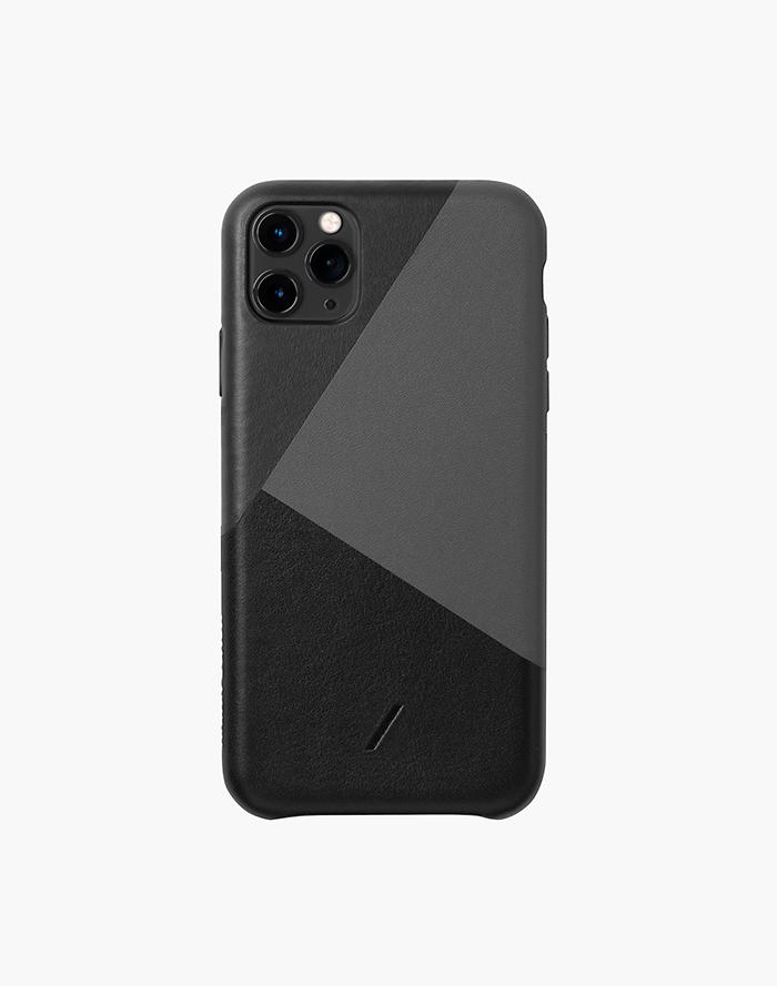 Madewell NATIVE UNION Marquetry Leather Clic Case for iPhone 11 Pro Max