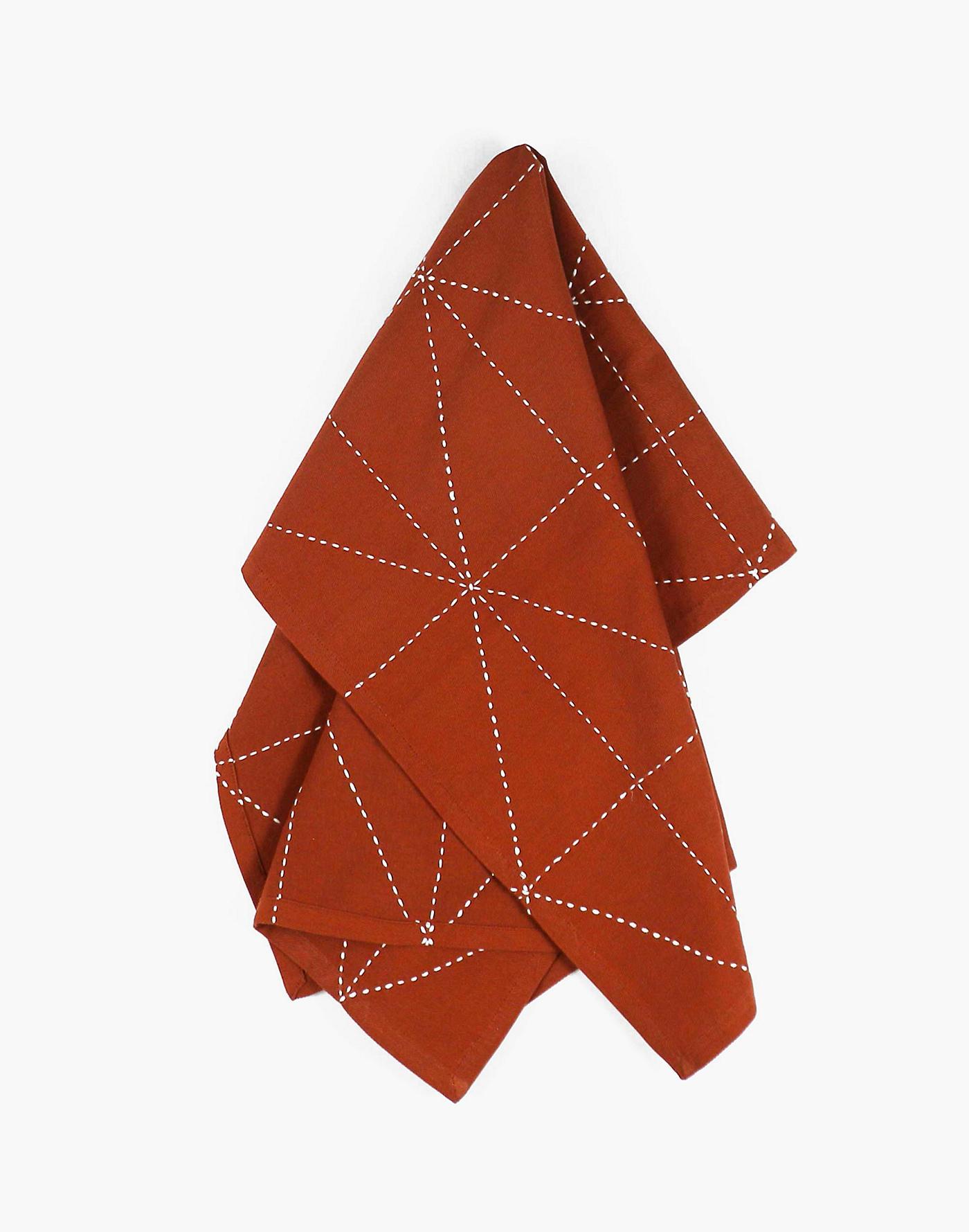 Madewell Anchal Organic Cotton Graph Tea Towel
