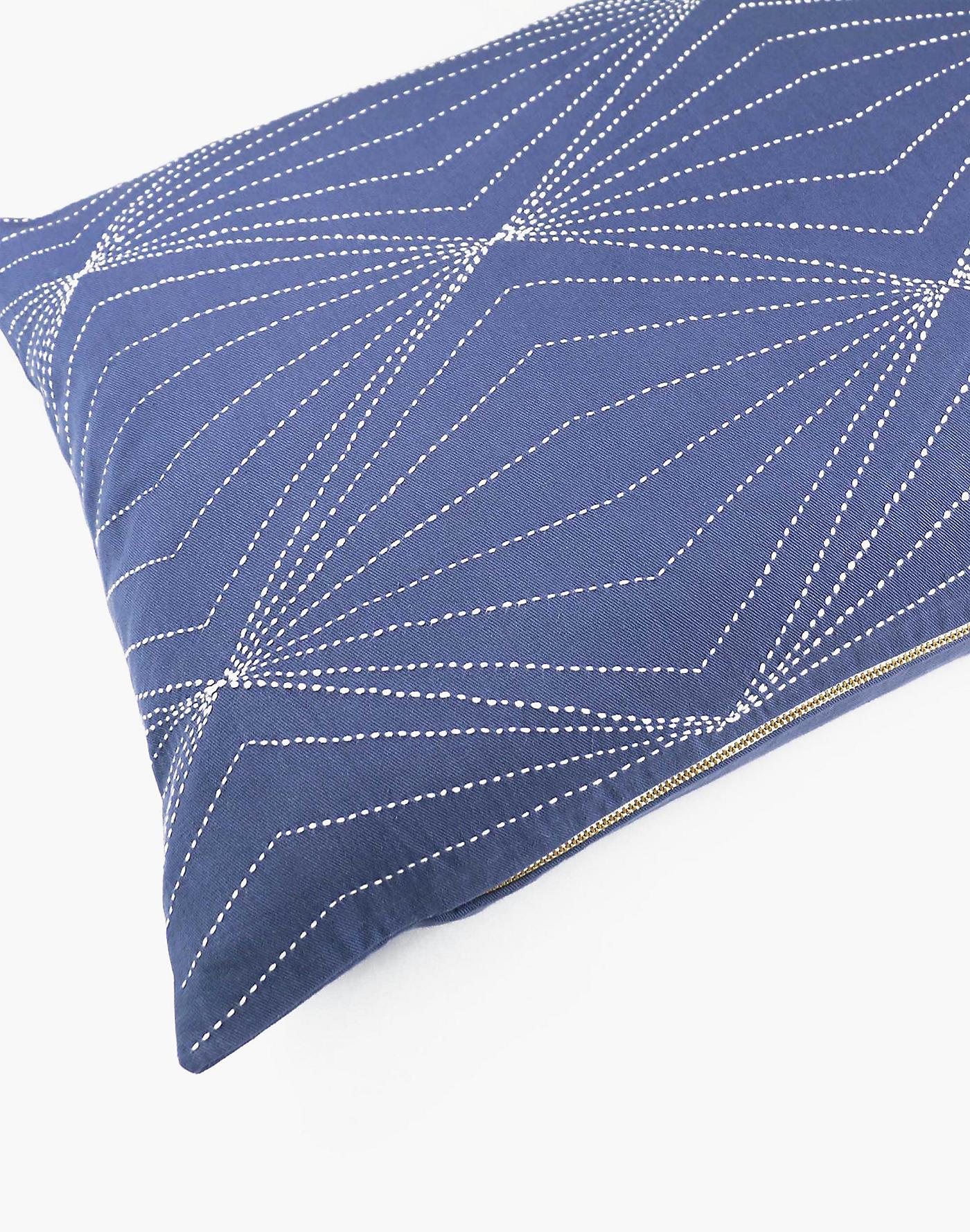 Madewell Anchal Organic Cotton Prism Lumbar Pillow