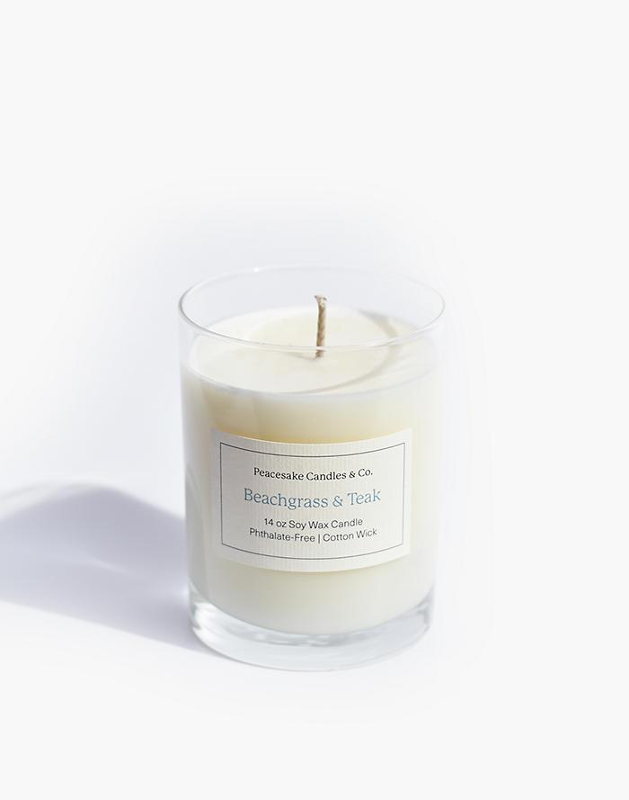 Madewell Peacesake Candles & Co. Beachgrass and Teak Candle