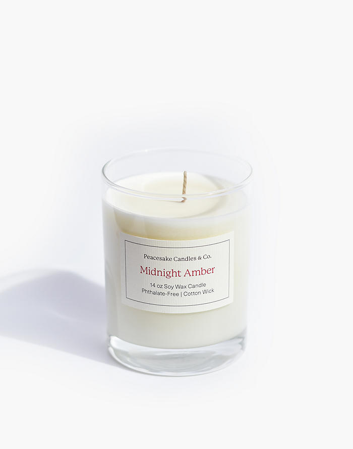 Madewell Peacesake Candles & Co. Midnight Amber Candle
