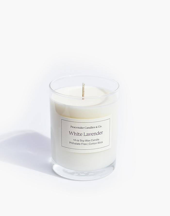 Madewell Peacesake Candles & Co. White Lavender Candle