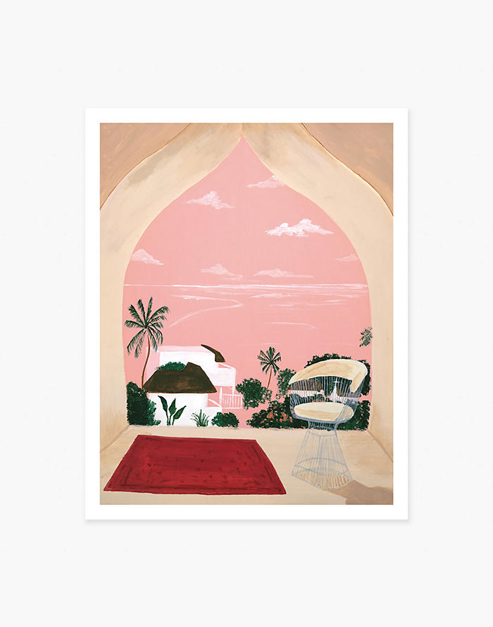 Madewell Slowdown Studio Lamu Art Print
