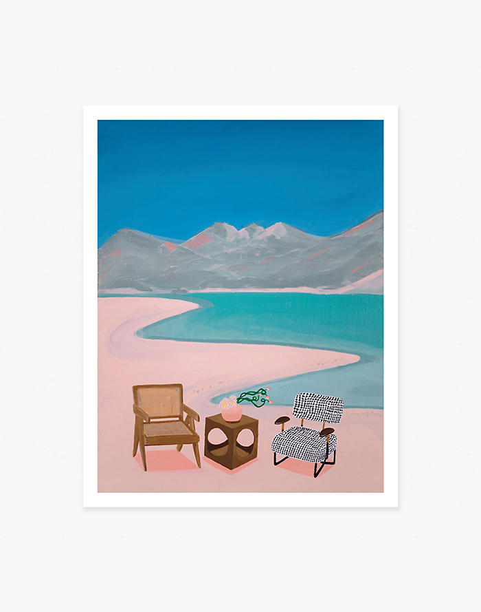 Madewell Slowdown Studio Sun Room Art Print