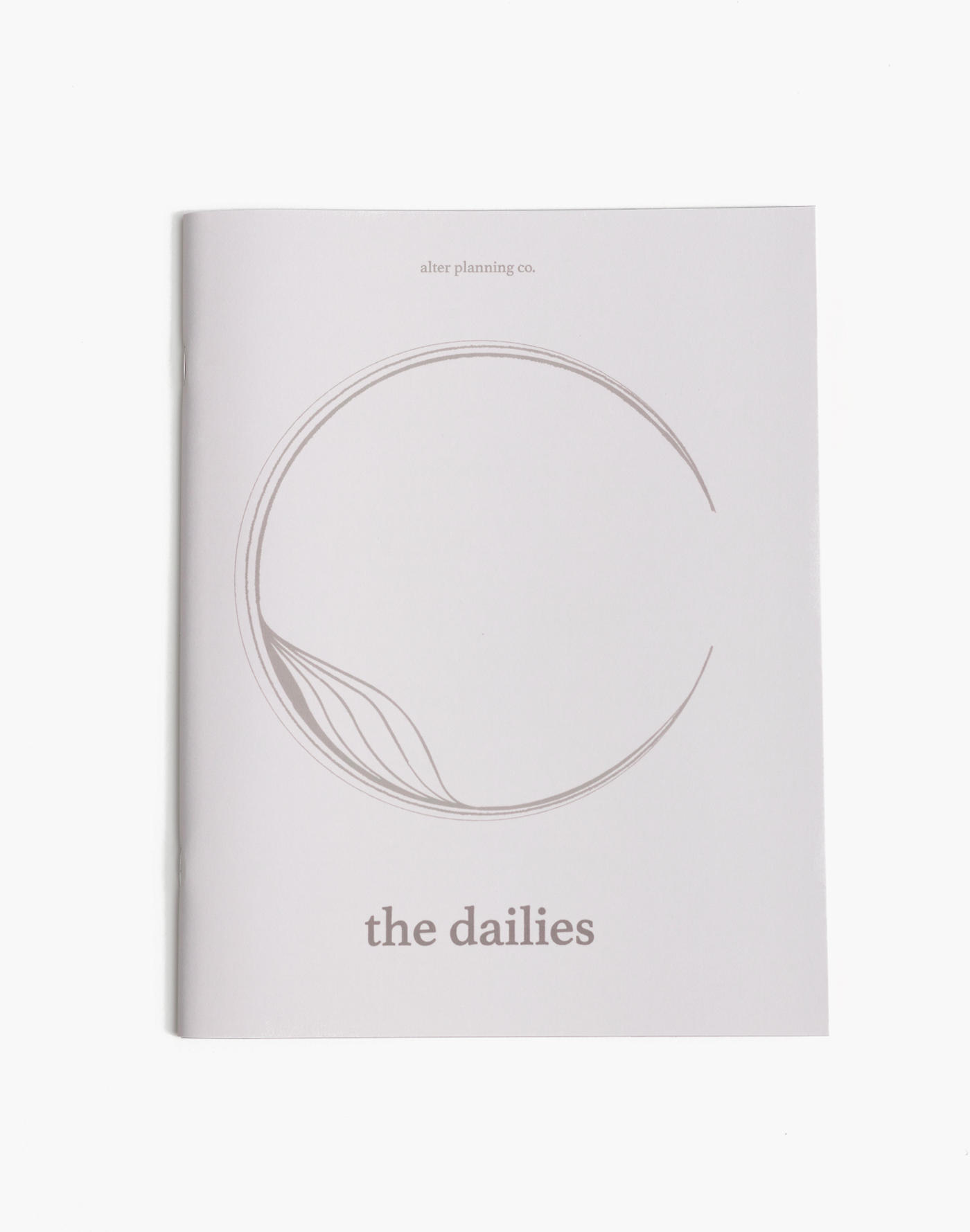 Madewell alter planning co. The Dailies Planner