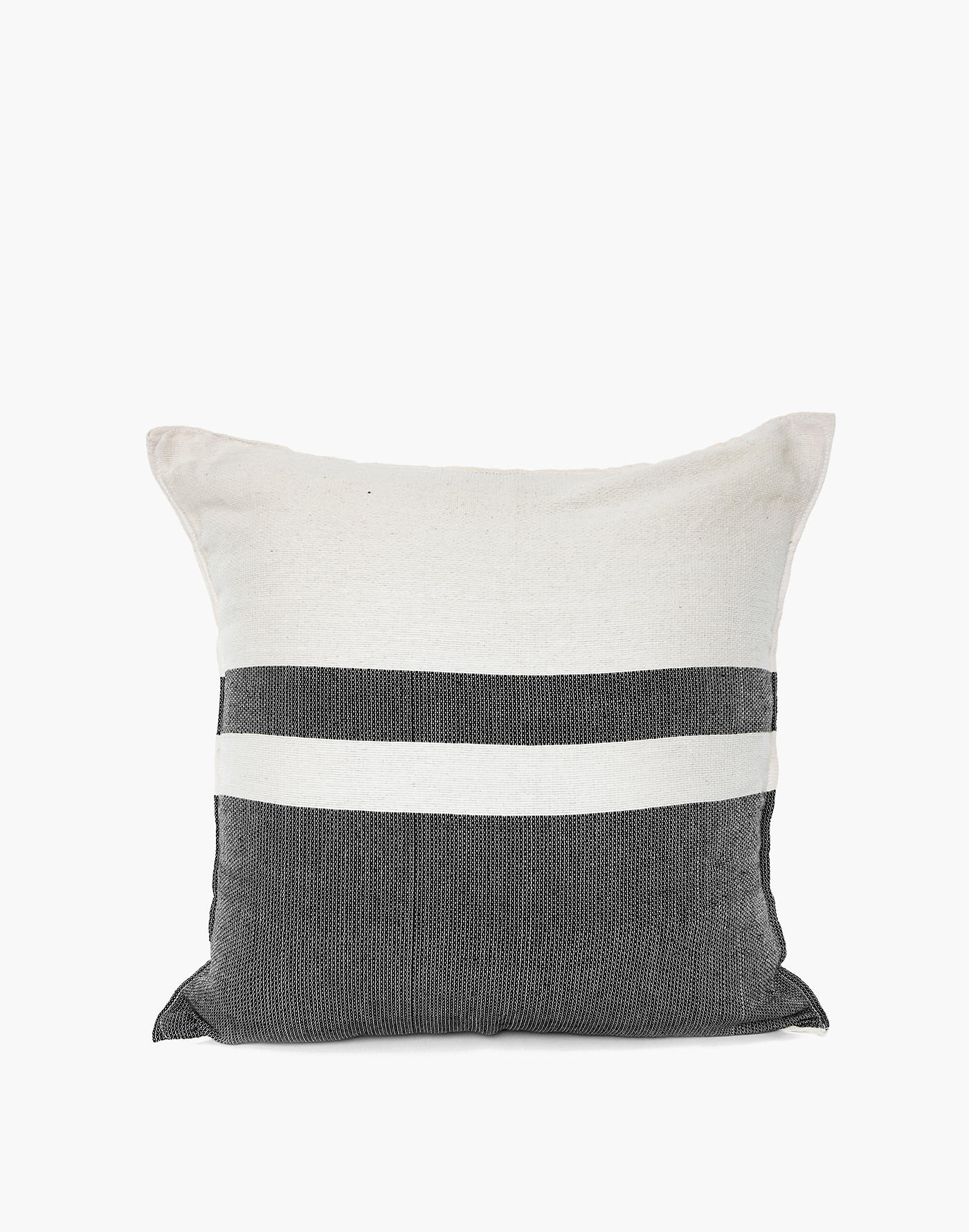 Madewell Nativa Woven Pillow Cover in Black