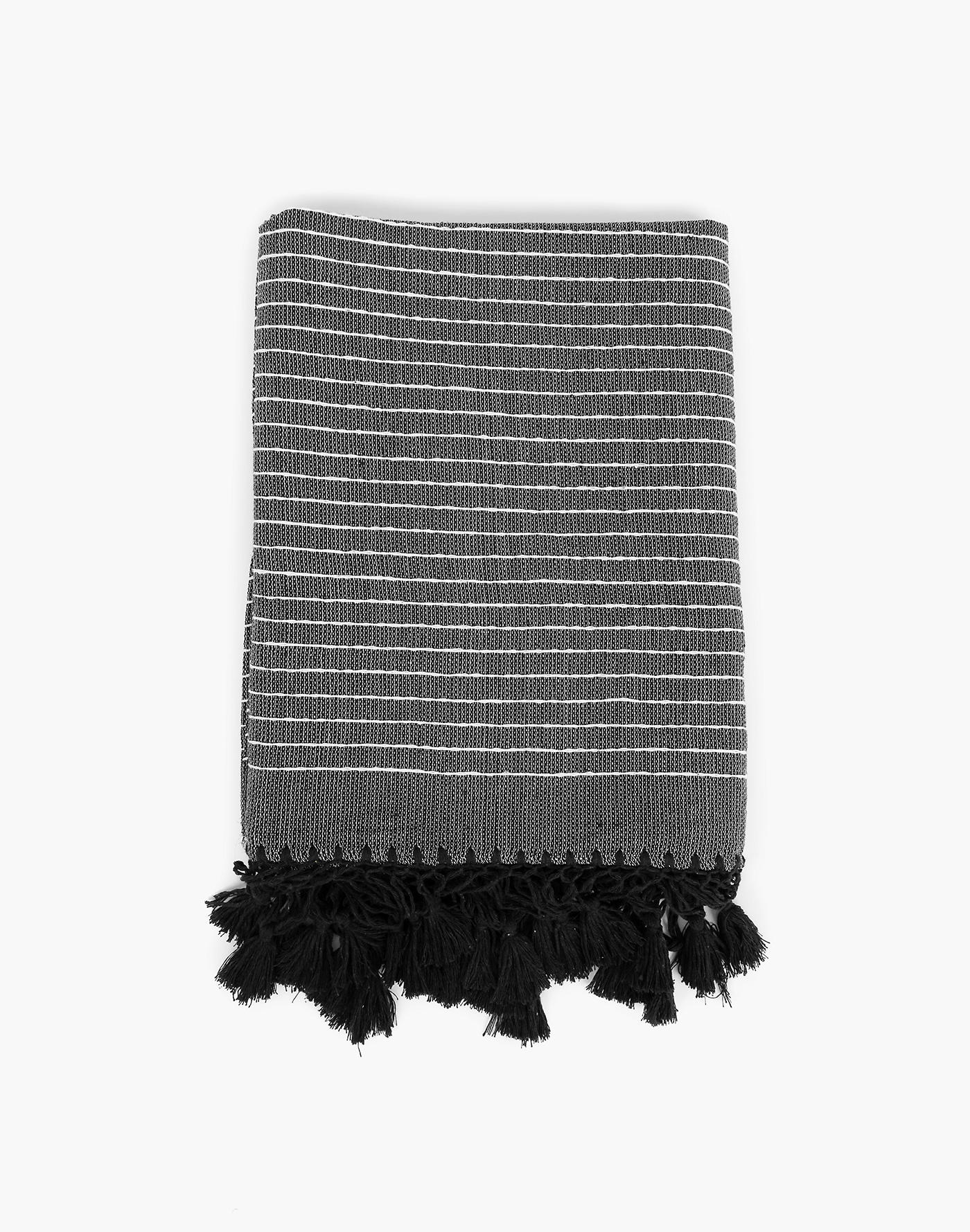 Madewell Nativa Throw in Black