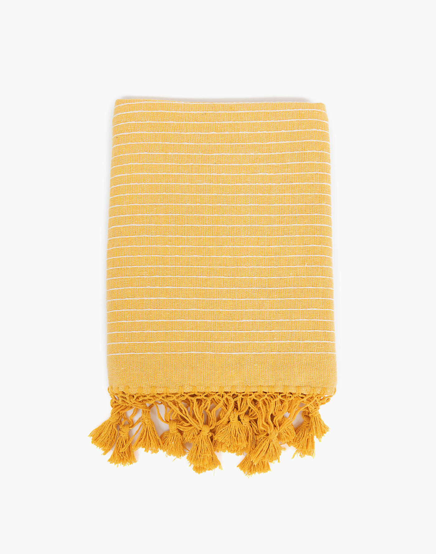 Madewell Nativa Throw in Yellow