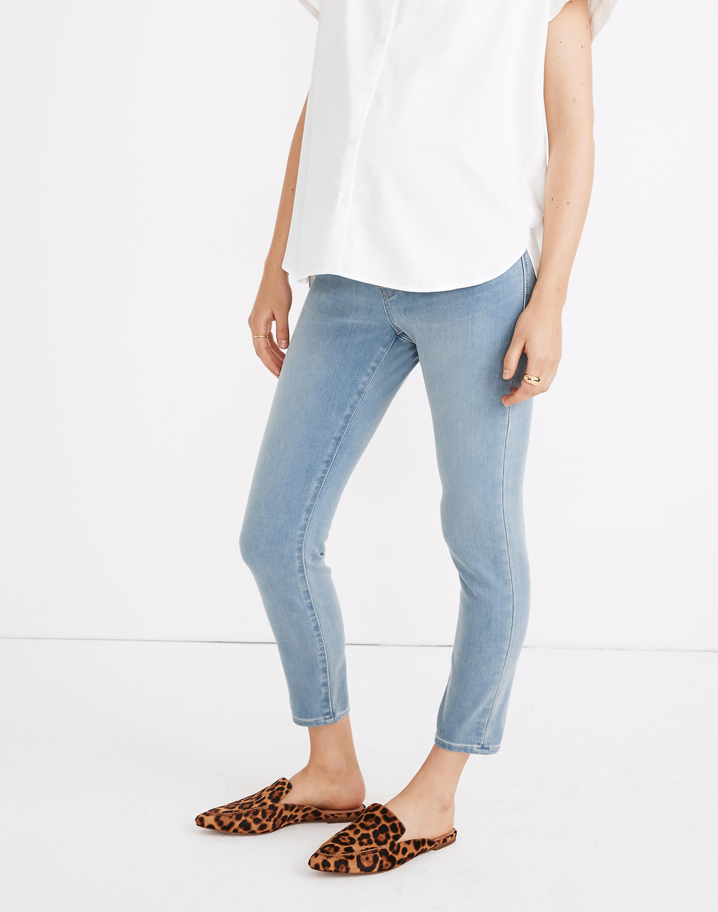 Madewell Maternity Over-the-Belly Roadtripper Jeggings