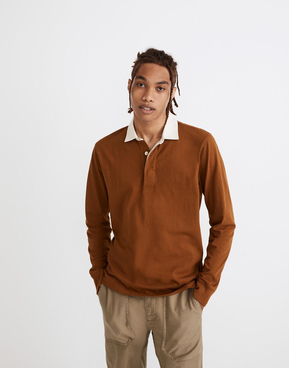 Mens Vintage Shirts – Casual, Dress, T-shirts, Polos Rugby Shirt $79.50 AT vintagedancer.com