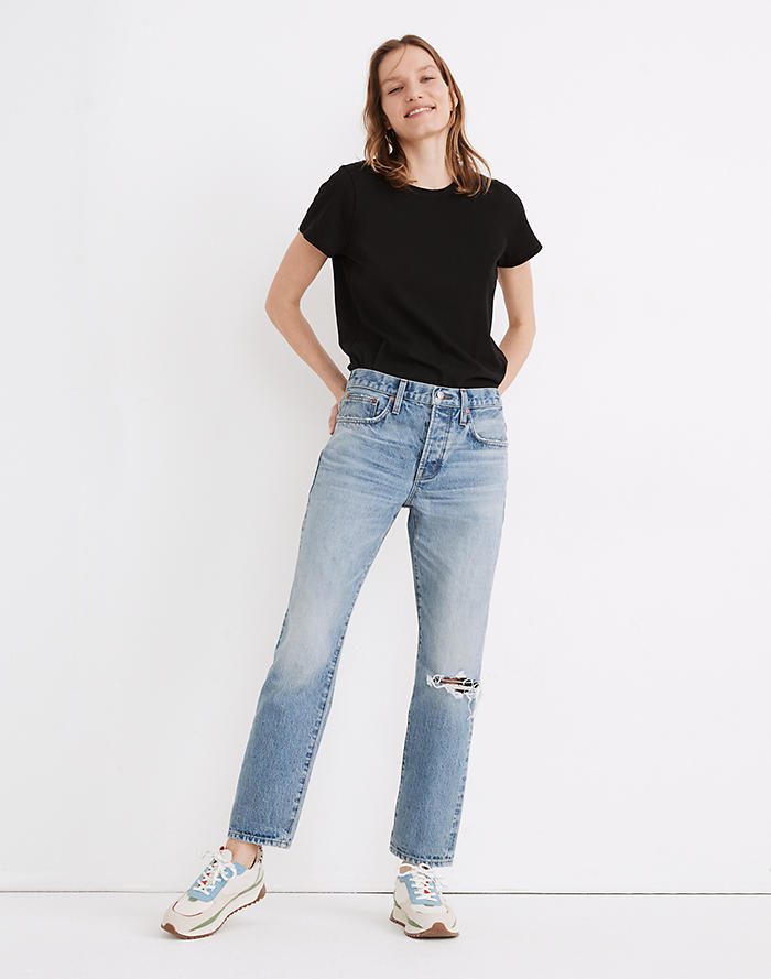 Madewell Rivet & Thread Low-Rise Vintage Straight Jeans: Selvedge Edition