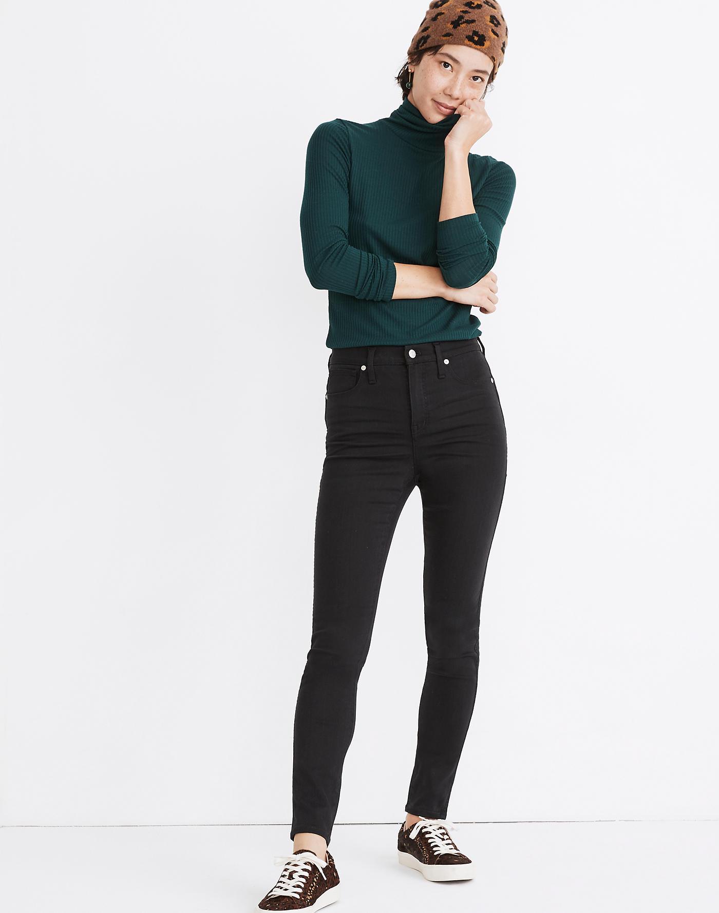 Madewell 10 High-Rise Skinny Jeans in Lunar Wash: TENCEL Denim Edition