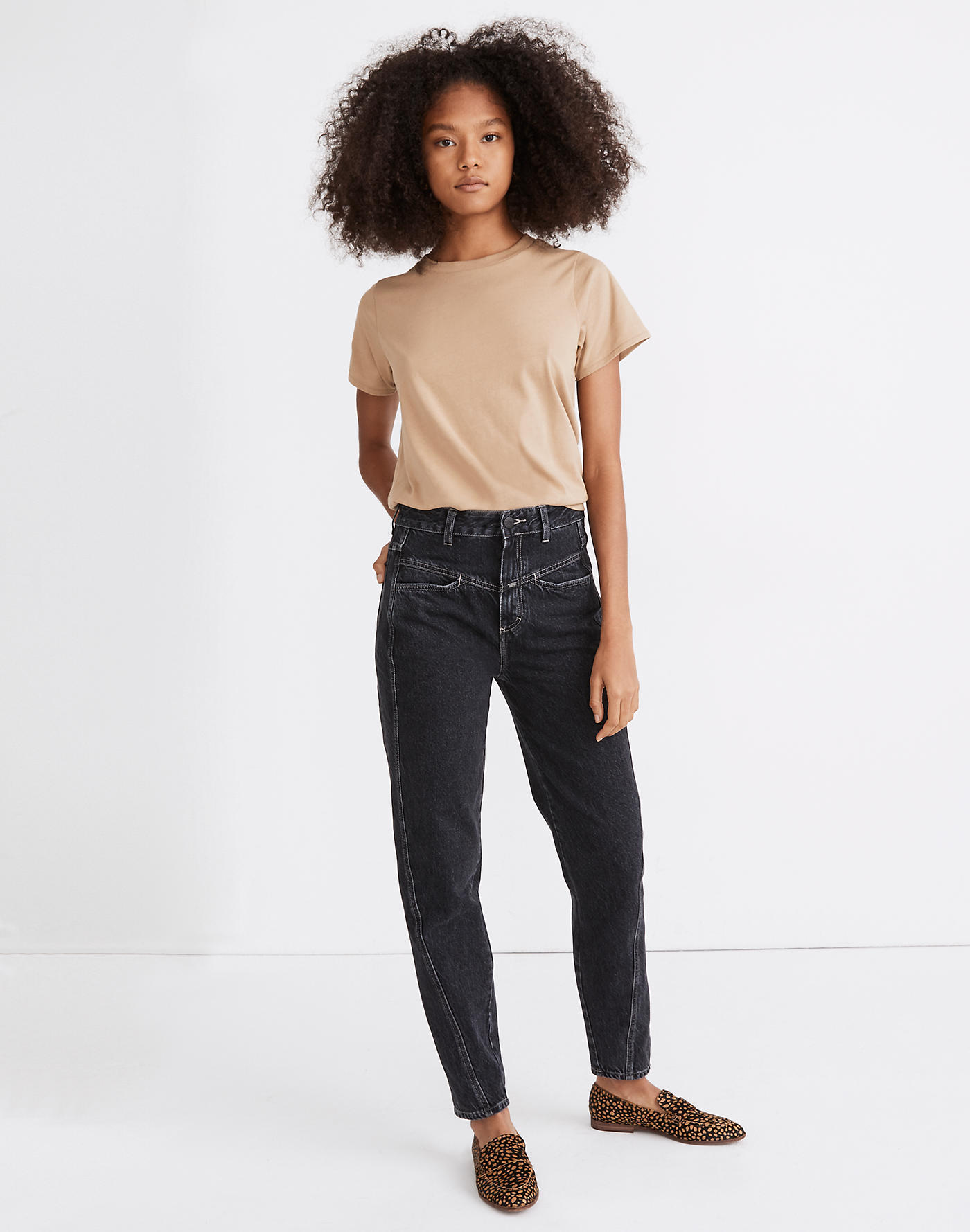 Madewell Closed Pedal Twist Relaxed Jeans