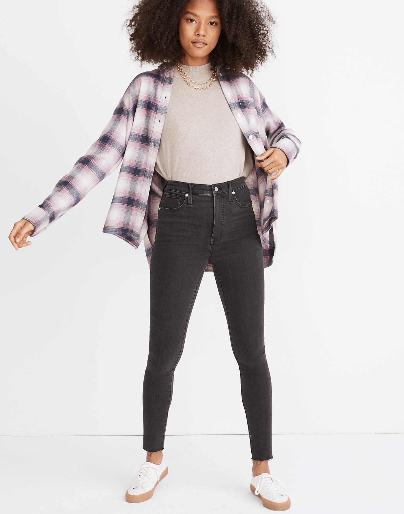 Madewell 11 High-Rise Skinny Jeans in Lunar Wash