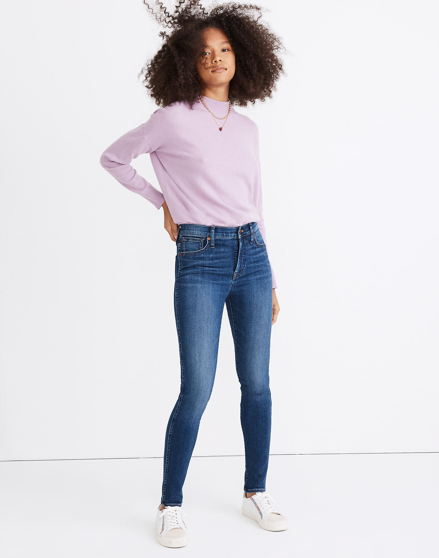 Madewell 10 High-Rise Skinny Jeans in Bradshaw Wash