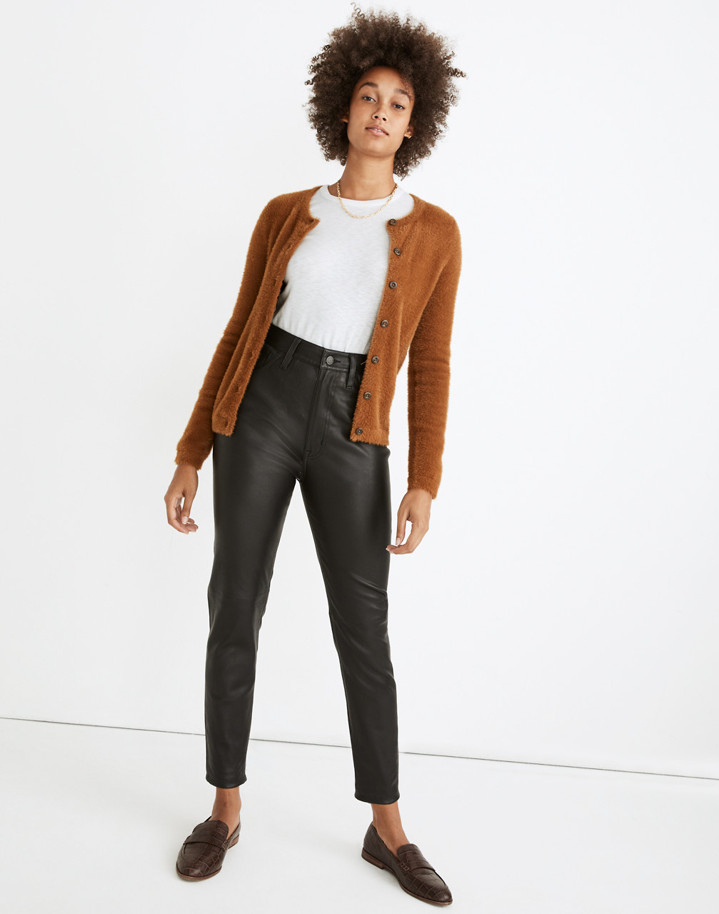 90s Clothing Outfits You Can Buy Now The Perfect Vintage Jean Leather Edition $398.00 AT vintagedancer.com