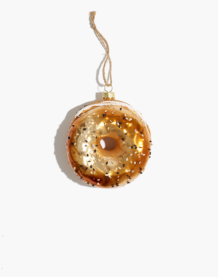 Madewell Cody Foster Glass Everything Bagel Ornament