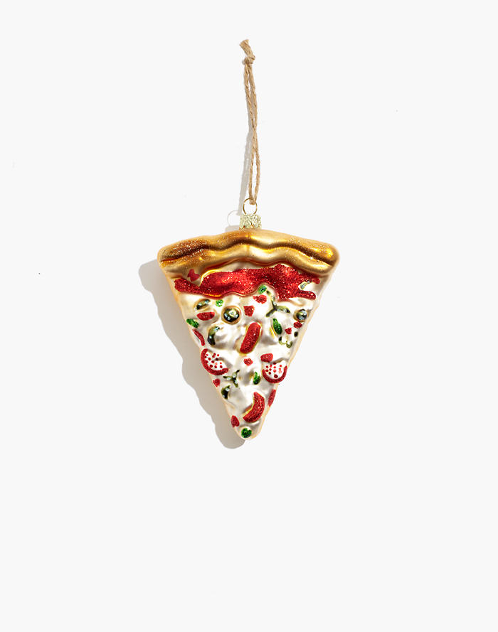 Madewell Cody Foster Glass Pizza Ornament
