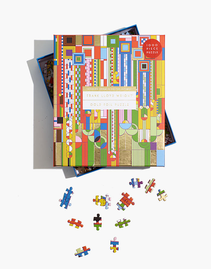Madewell Frank Lloyd Wright 1000-Piece Saguaro Cactus and Forms Jigsaw Puzzle