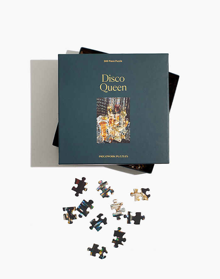 Madewell Piecework 500-Piece Disco Queen Jigsaw Puzzle