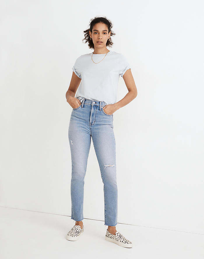 Madewell The Perfect Vintage Jean in Coffey Wash: Worn-In Edition
