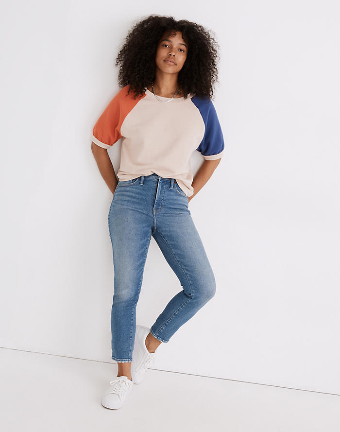 Madewell Stovepipe Jeans in Ditmas Wash