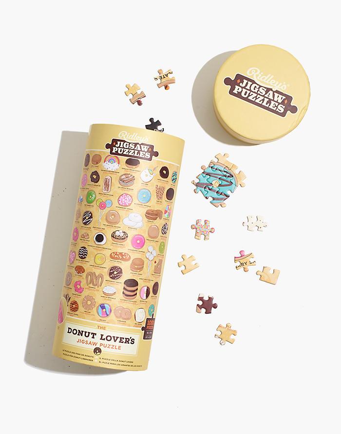 Madewell Ridleys 1000-Piece Donut Lovers Jigsaw Puzzle