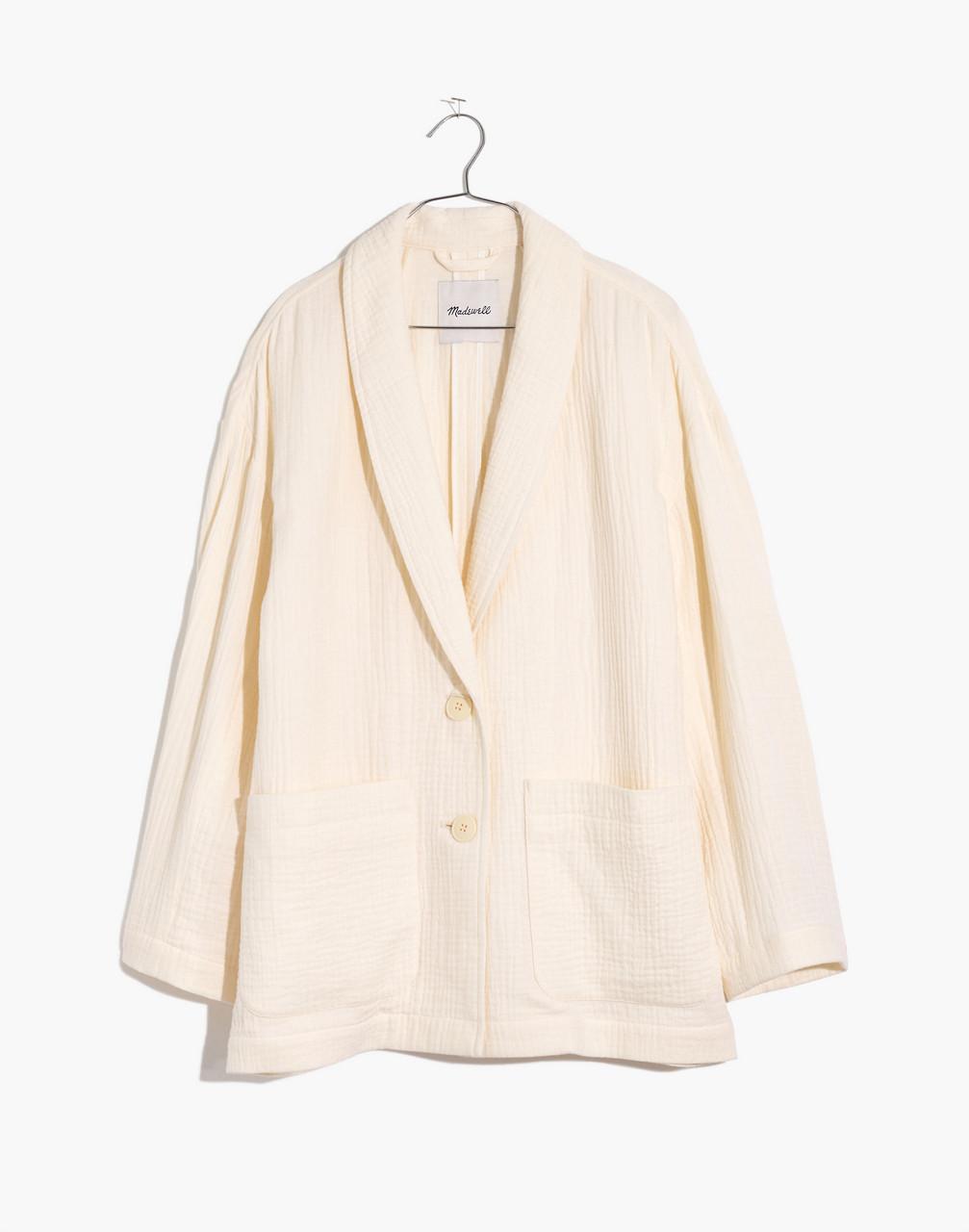 1920s Coats, Furs, Jackets and Capes History Plus Lightspun Dorset Blazer $138.00 AT vintagedancer.com