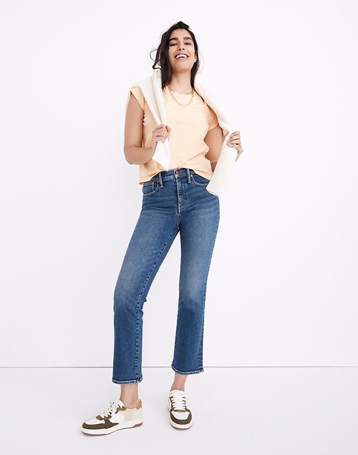 Madewell Cali Demi-Boot Jeans in Bodney Wash
